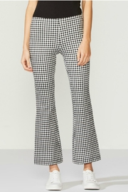 Bailey 44 Gingham Ponte Pant - Product Mini Image
