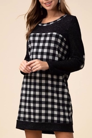 Entro Gingham print dress - Front cropped