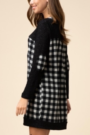 Entro Gingham print dress - Side cropped