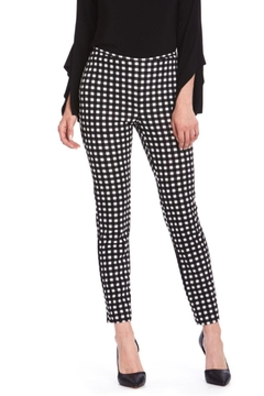Cartise Gingham Printed Pant - Product List Image