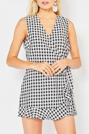 Entro Gingham Romper - Product Mini Image