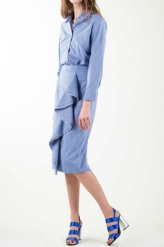 BEULAH STYLE Gingham Skirt Set - Product List Image