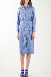 BEULAH STYLE Gingham Skirt Set - Other