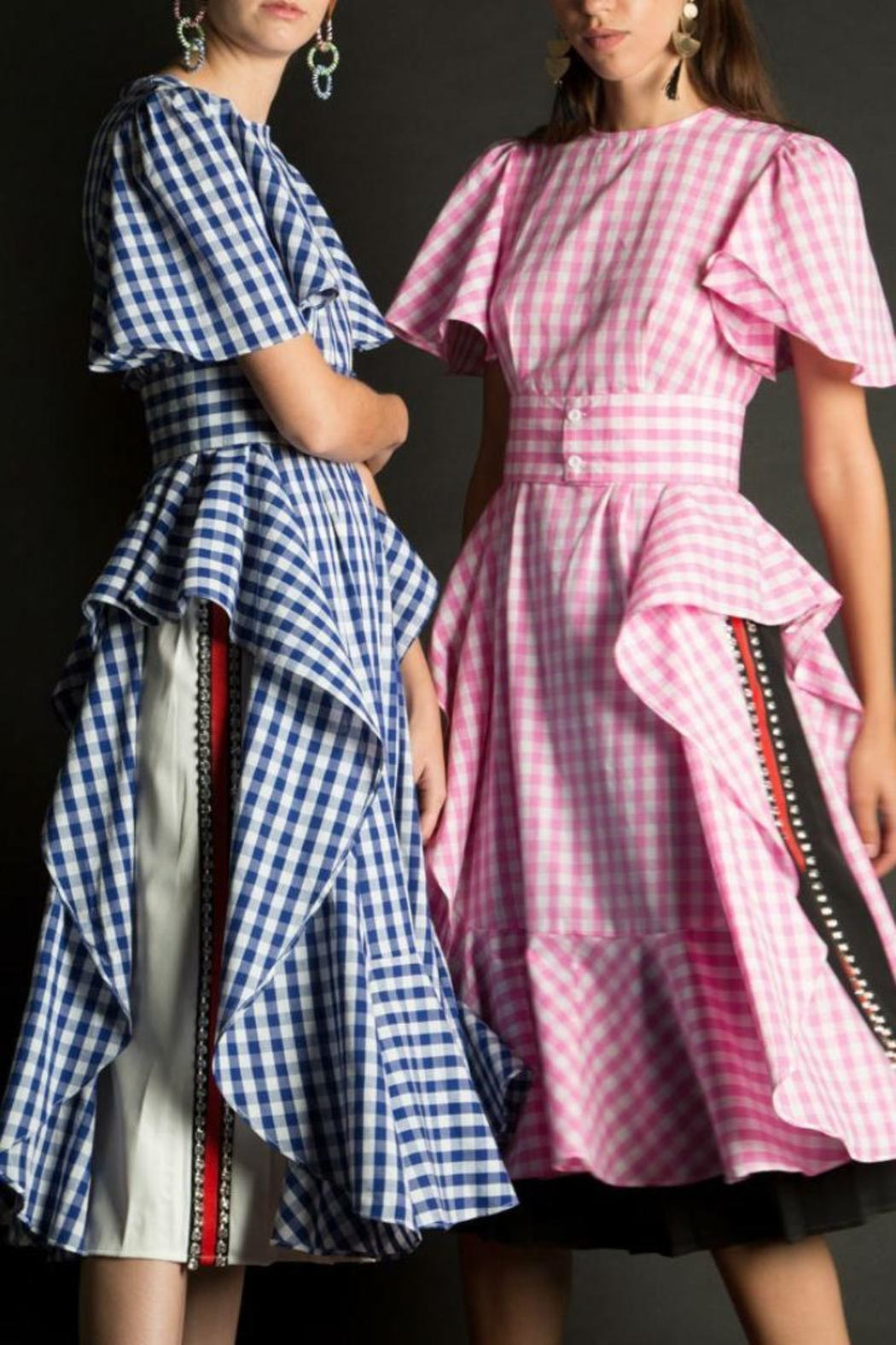 b042618c5b BEULAH STYLE Gingham Smock Dress from Brooklyn by Glam Expressway ...