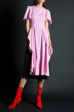 BEULAH STYLE Gingham Smock Dress - Product List Image