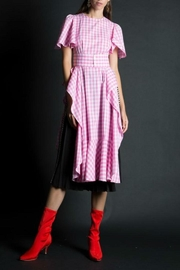 BEULAH STYLE Gingham Smock Dress - Product Mini Image