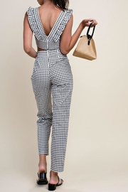 Pretty Little Things Gingham Stretch Pants - Front full body