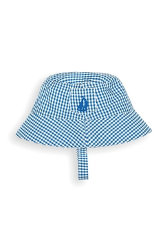 Shoptiques Product: Gingham Sun Hat