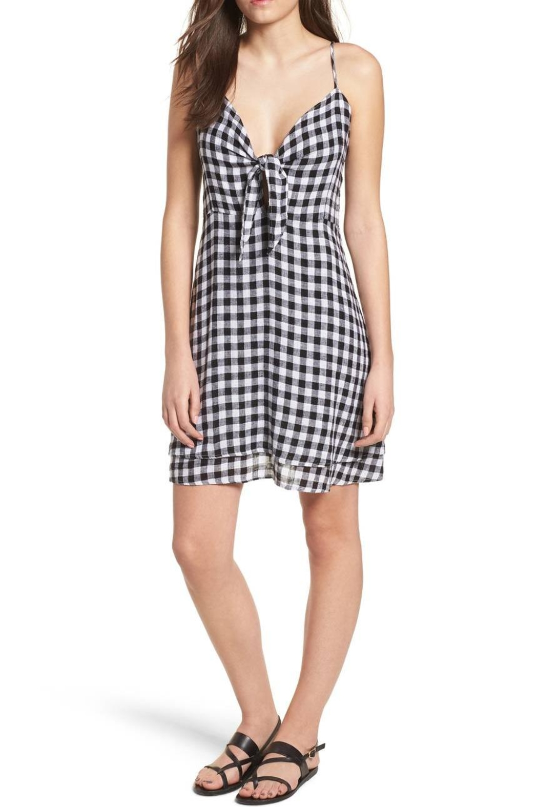 Rails Gingham Tank Dress - Main Image