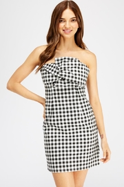 She + Sky Gingham Tube Dress - Product Mini Image