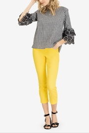 Tribal Gingham Woven Top - Product Mini Image