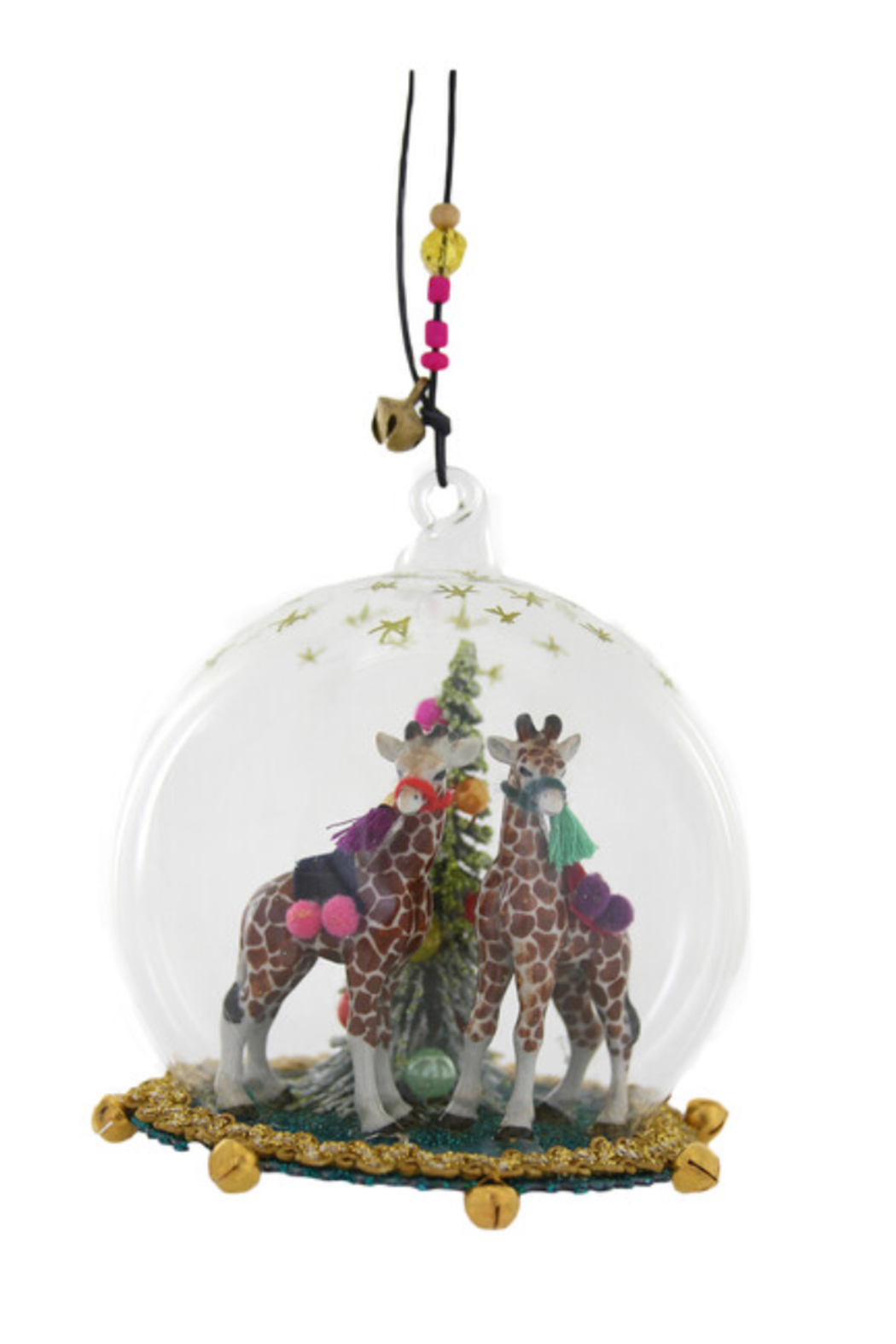 Cody Foster Giraffe Globe Ornament - Front Cropped Image