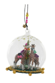 Cody Foster Giraffe Globe Ornament - Product Mini Image