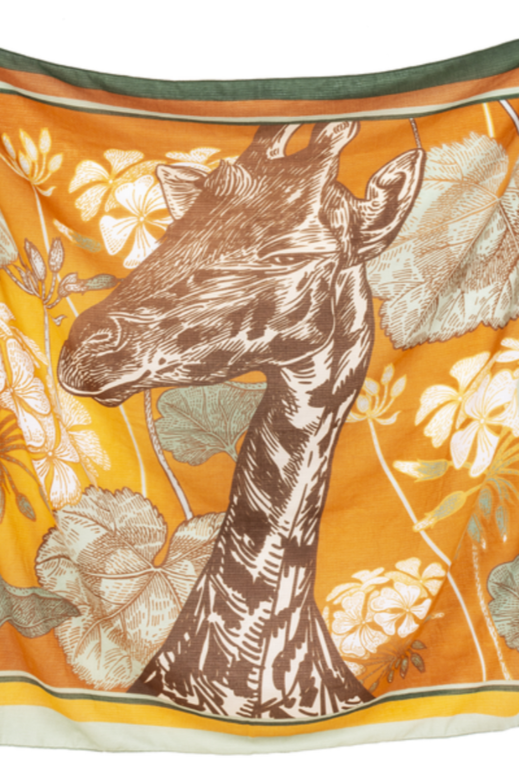 Ganz Giraffe Scarf - Front Cropped Image