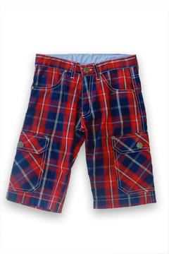 Girandola Boys Tartan Shorts - Alternate List Image