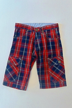 Shoptiques Product: Boys Tartan Shorts