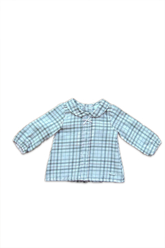 Girandola Checkered Preppy Blouse - Alternate List Image