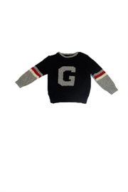 Girandola G Blue Sweater - Front cropped