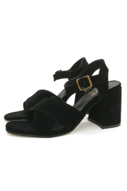 MIYE COLLAZZO Girasol Black Sandal - Product Mini Image