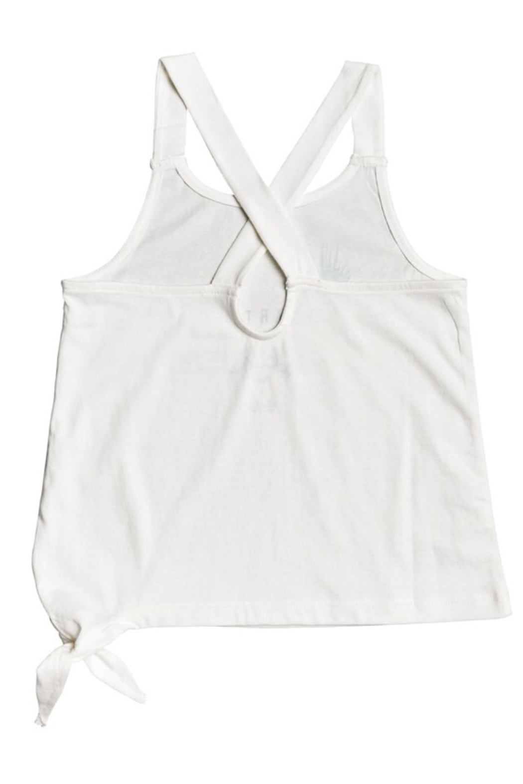 Roxy  Girl Like You A Tie- Side Tank Top - Front Full Image