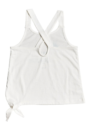 Roxy Girl Girl Like You A Tie- Side Tank Top - Front full body