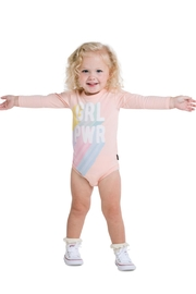 Rock Your Baby Girl Power Bodysuit - Front cropped