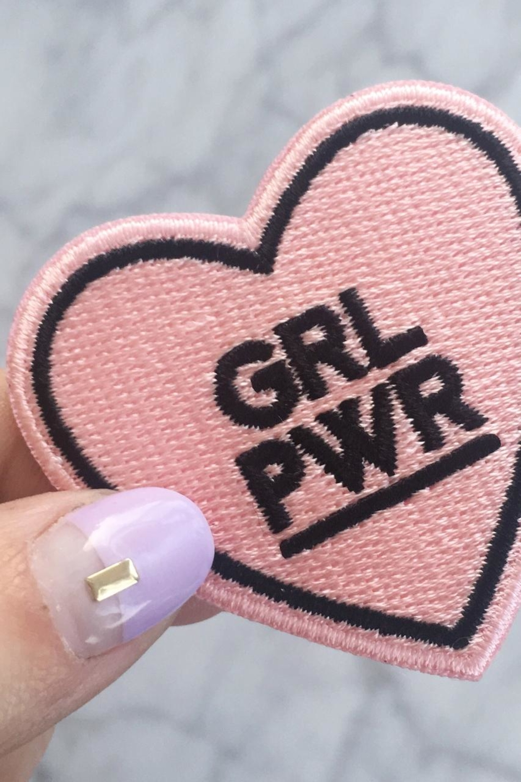 Wildflowers Girl Power Patch - Front Full Image