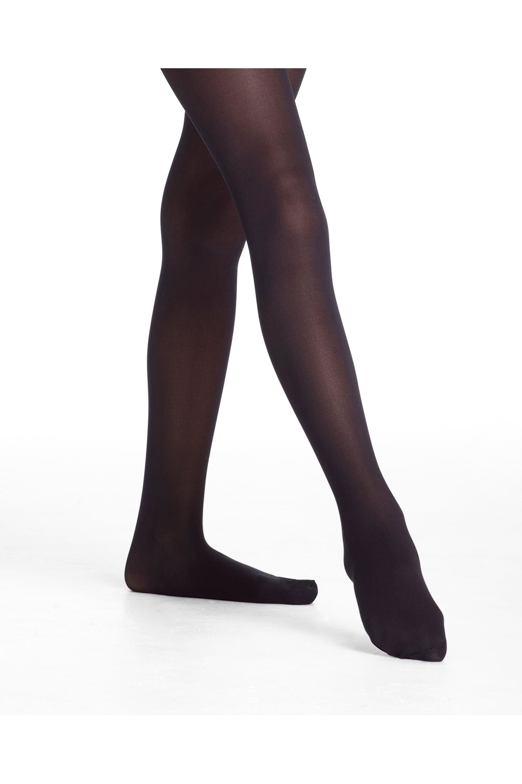 Danskin Girl's 703 Basic Footed Tights - Main Image