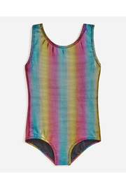 Danskin Girl's Foil Print Gymnastic Leotard - Product Mini Image