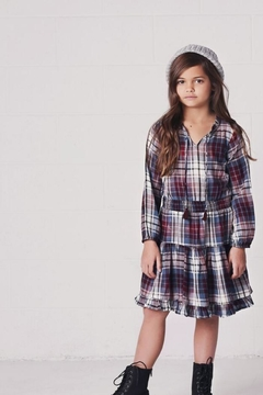Jak & Peppar Girl's Plaid Dress - Alternate List Image