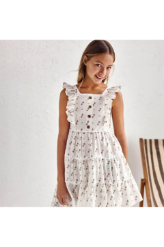 Mayoral Girl's Printed Dress With Straps - Product List Image