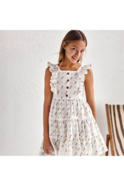 Mayoral Girl's Printed Dress With Straps - Product Mini Image