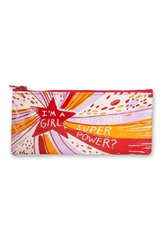 Blue Q Girl Superpower Pencil-Pouch - Product Mini Image