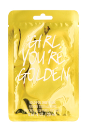 Fashion Angels Girl You're Golden Face Mask - Product Mini Image