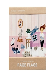 Girl of All Work Cat Page Flags - Product Mini Image