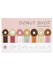 Girl of All Work Donut Page Flags - Front cropped