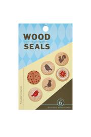 Girl of All Work Nature Wood Seals - Product Mini Image