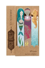 Girl of All Work Sea Enchantment Flags - Front cropped