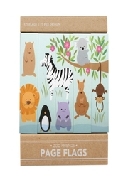 Girl of All Work Zoo Page Flags - Product Mini Image
