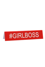 About Face Designs #GirlBoss Sign - Product Mini Image