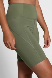 Girlfriend Collective High-Rise Bike Short - Back cropped