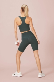 Girlfriend Collective High-Rise Bike Short - Side cropped