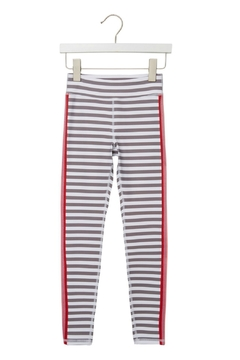 SPIRITUAL GANGSTER Girls Active Stripe Legging - Product List Image