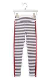 SPIRITUAL GANGSTER Girls Active Stripe Legging - Front cropped