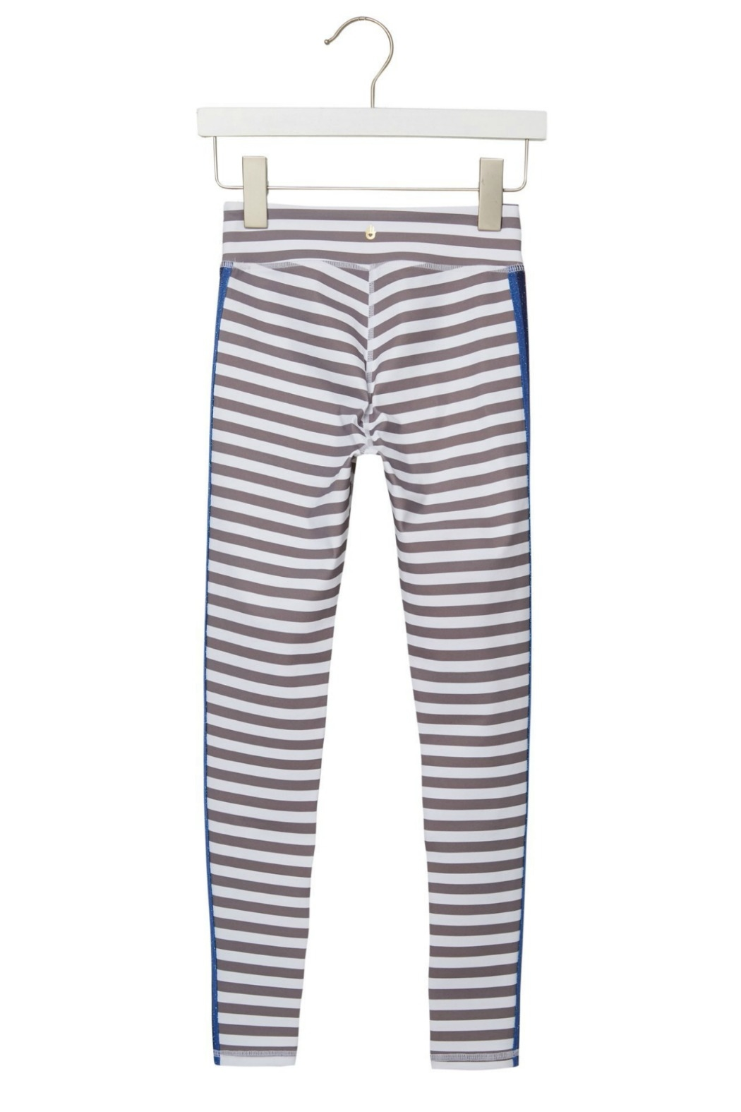 SPIRITUAL GANGSTER Girls Active Stripe Legging - Side Cropped Image