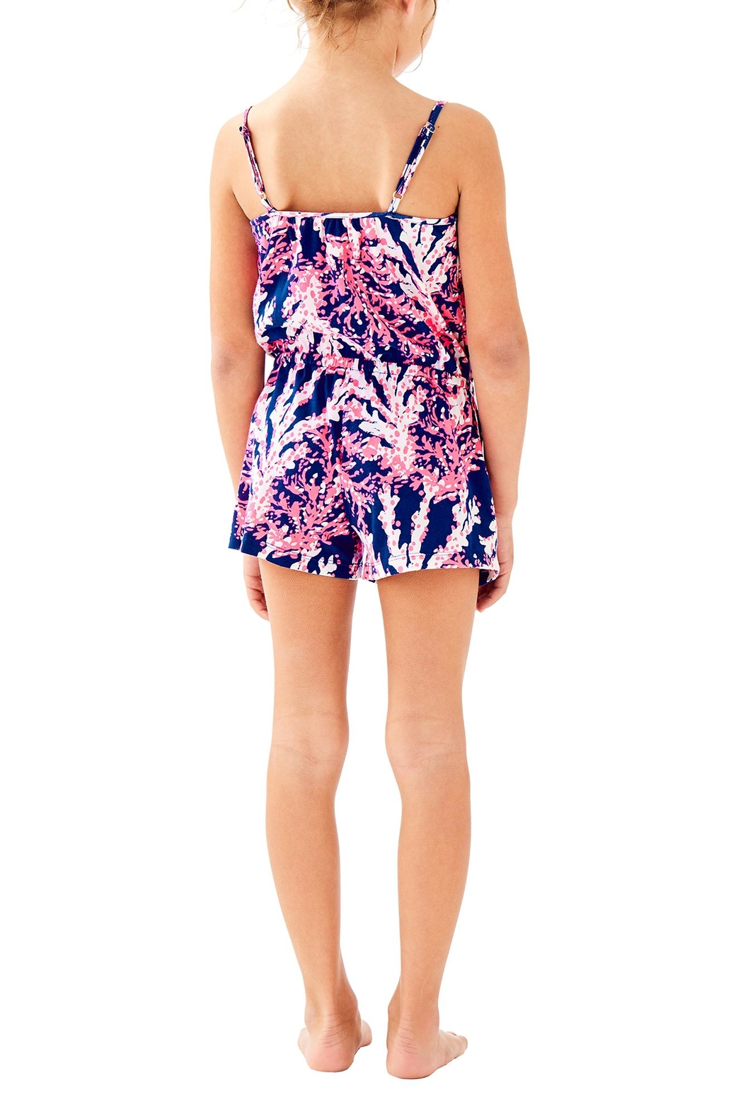 Lilly Pulitzer Girls Aleene Romper - Front Full Image