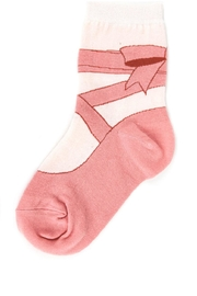Foot Traffic Girls Ballerina Sox's - Product Mini Image