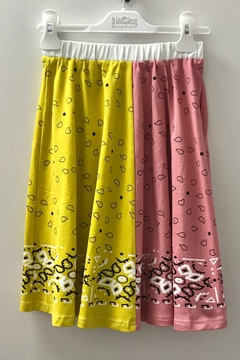 Shoptiques Product: GIRLS BANDANA PRINT SKIRT