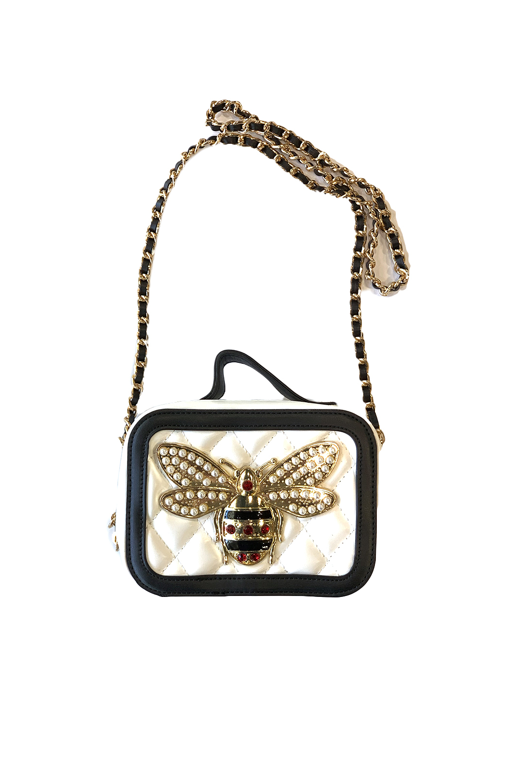 CHLOE K. NEW YORK Girls Bee Bag - Front Cropped Image