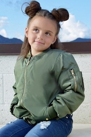 Cutie Patootie Girls Bomber Jacket - Product Mini Image